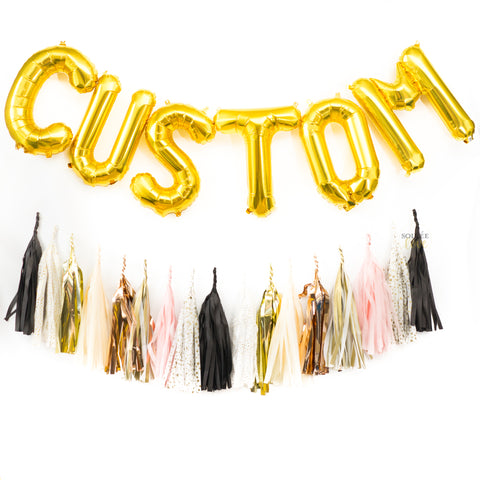 Custom Balloon Banner