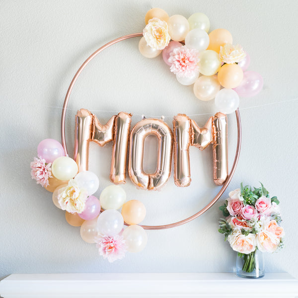 MOM Balloon Banner