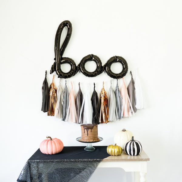 Boo! Ghost Tassel Party Box