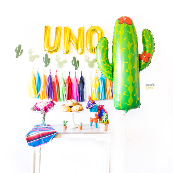 Uno Balloon Garland