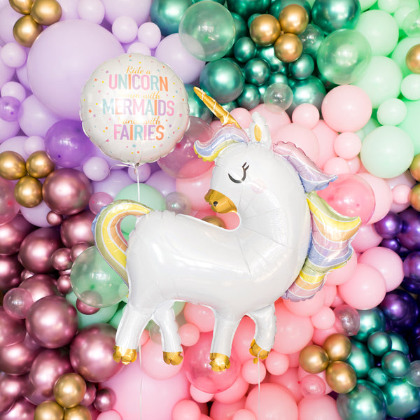Unicorn Mermaids & Fairies Balloon
