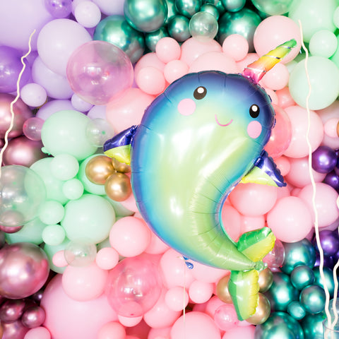 Mermaid Narwhal Balloon