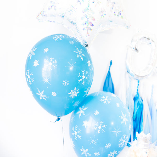 Blue Snowflake Winter Onederland Party Box