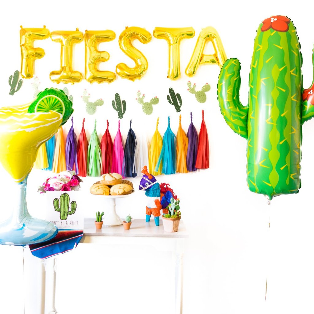 Gold Fiesta Party Box