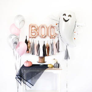 Rose Gold Boo! Ghost Tassel Party Box