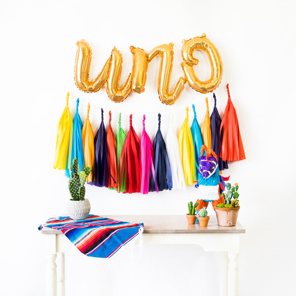Script Uno Fiesta Balloon Party Box
