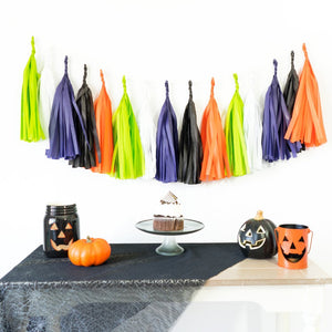 Monster Mash Paper Tassels