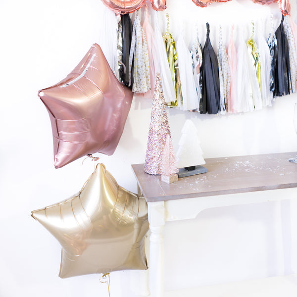 Blush NYE Tassel Balloon Party Box