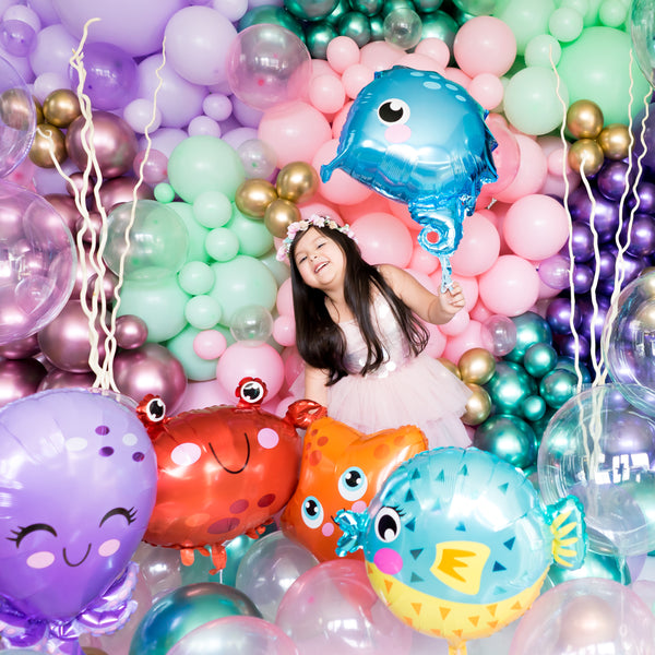 Mermaid Under the Sea Balloons