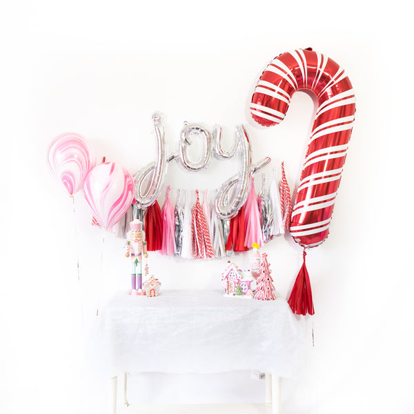 Candy Cane Balloon