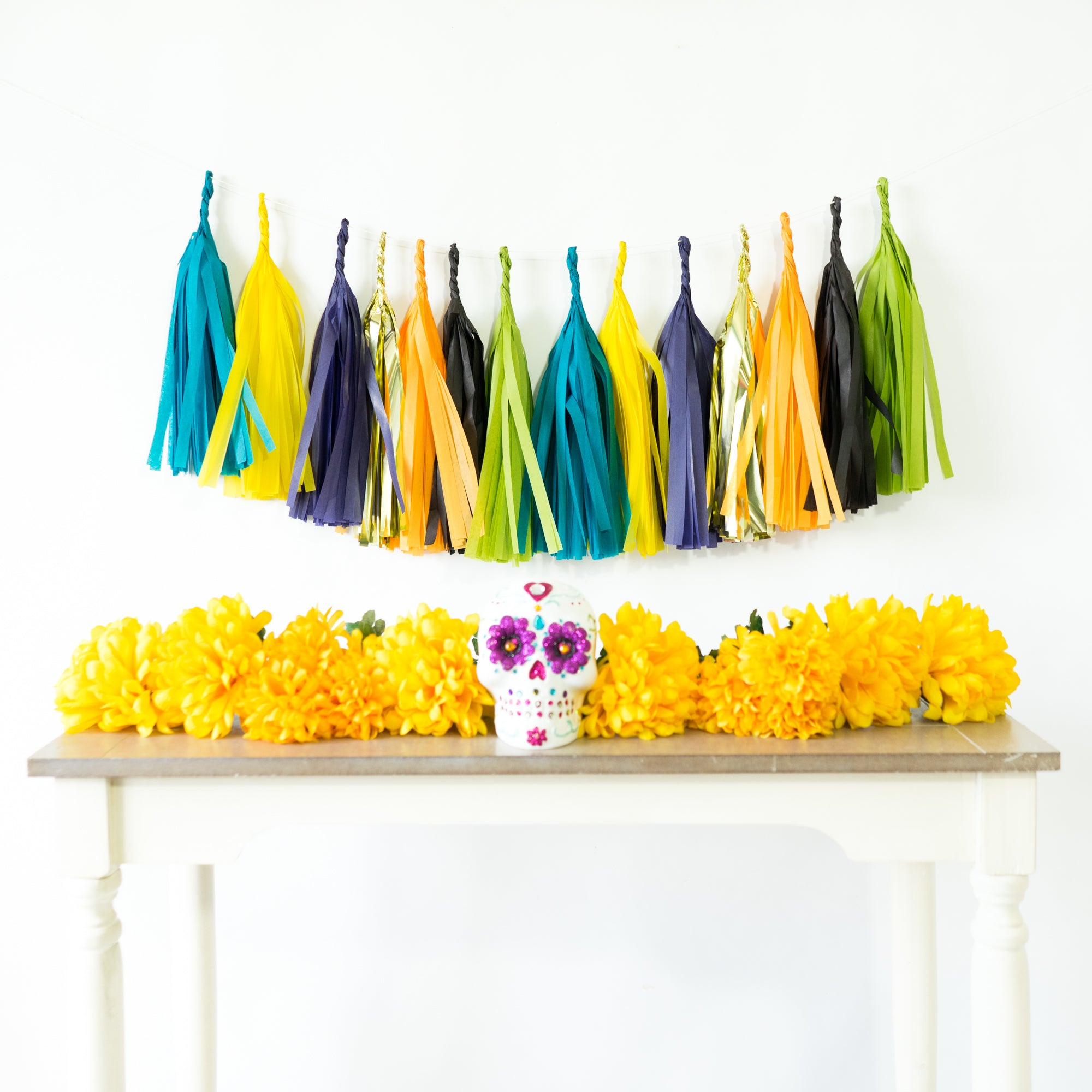 Day of the Dead Paper Tassels