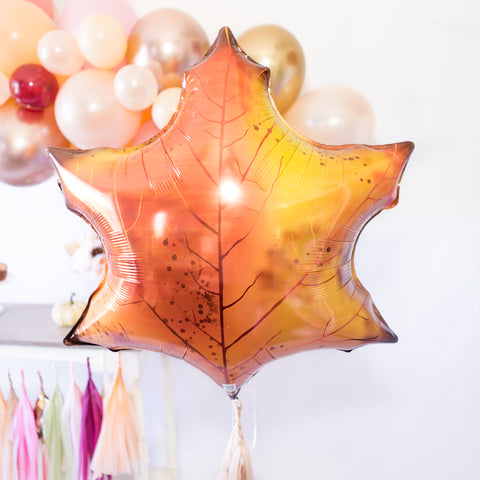 Fall Maple Leaf Balloon