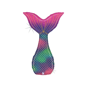 Holographic Mermaid Tail