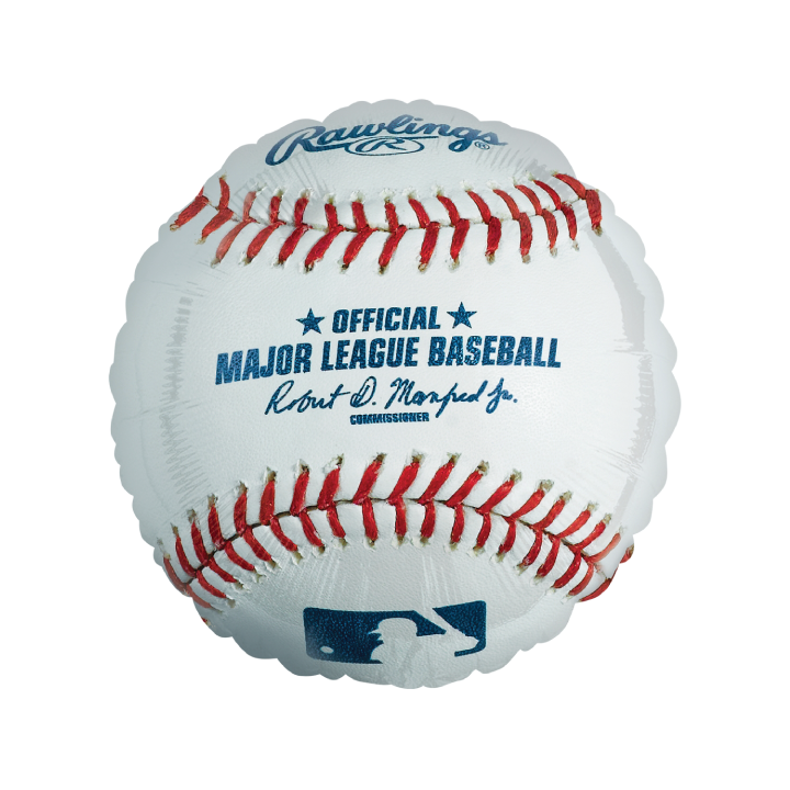 Licensed MLB Baseball Balloon