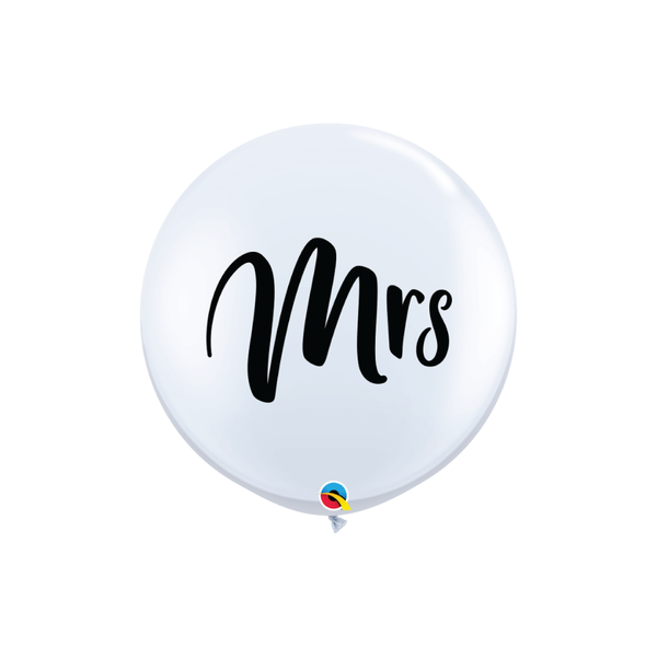Mr & Mrs Giant Balloon