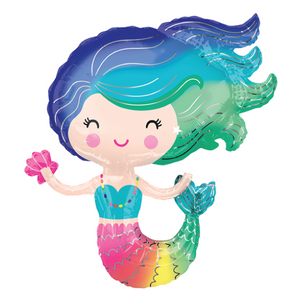 Mermaid Balloon | Rainbow