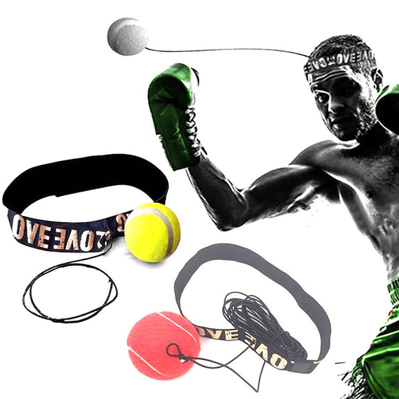 Boxing Fight Ball With Head Band for reflex and speed training