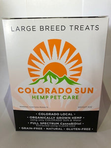LARGE BREED TREATS WITH 7MG PER TREAT!