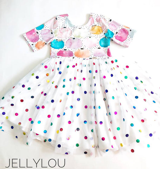 Watercolor Pumpkins Dress