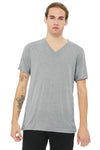 BELLA + CANVAS ® Unisex Triblend Short Sleeve V-Neck Tee BC3415