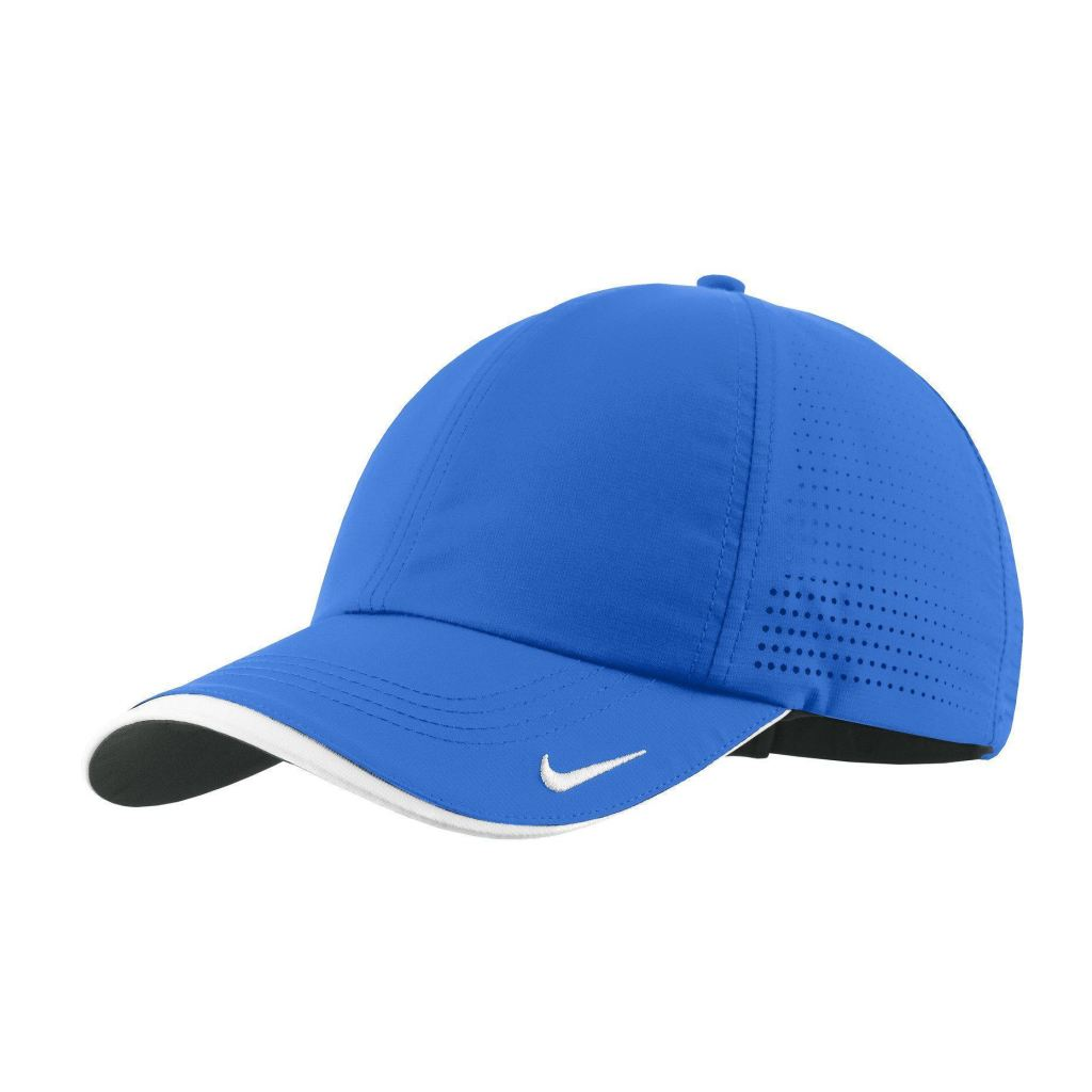 Nike Dri-Fit Swoosh Perforated Cap 429467 - Blue Sapphire   Osfa - Caps c6482f66132