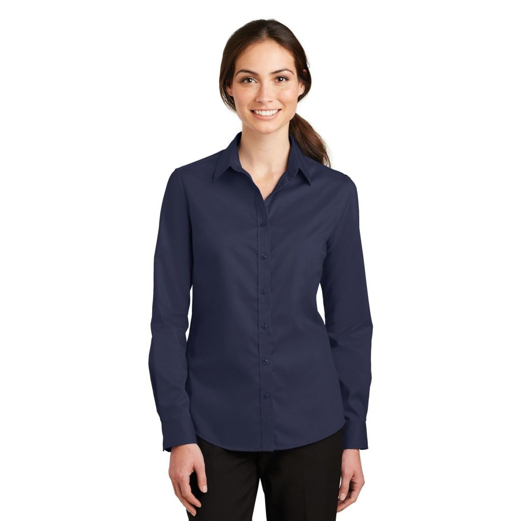 Port Venwear L663 Superpro Shirt Authority® Ladies Twill HPzxqpCdP