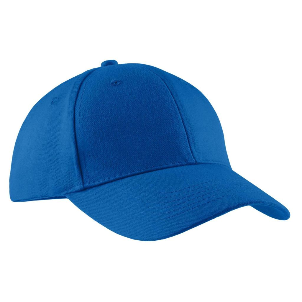 737c7916668 Port   Company® - Brushed Twill Cap Cp82 - Royal   Osfa - Caps