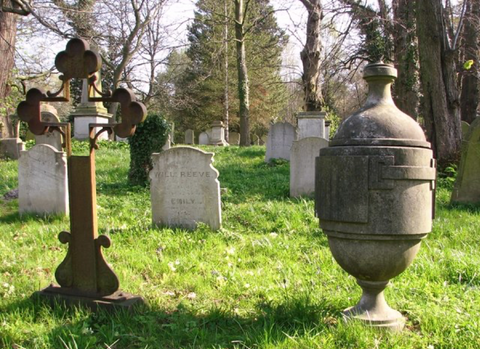 how many urns can be buried in a plot