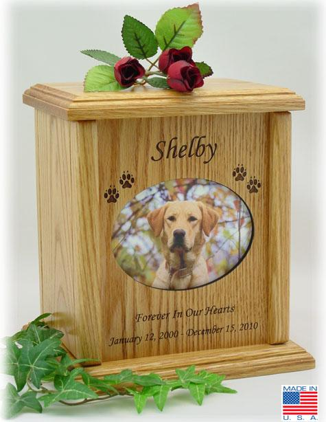 Photo Pet Urns Extra Large