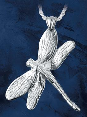 Dragonfly Keepsake Pendant