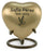 Monterey Blue Aluminun and Brass Heart Keepsake