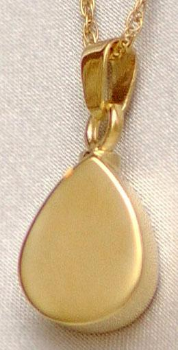 Teardrop Pet Keepsake Pendant