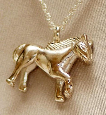 Horse Sterling Silver Pendant