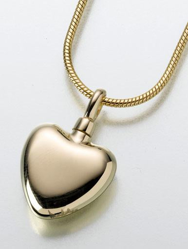 Small Heart Keepsake Pendant