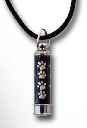 Paw Prints Urn Necklace