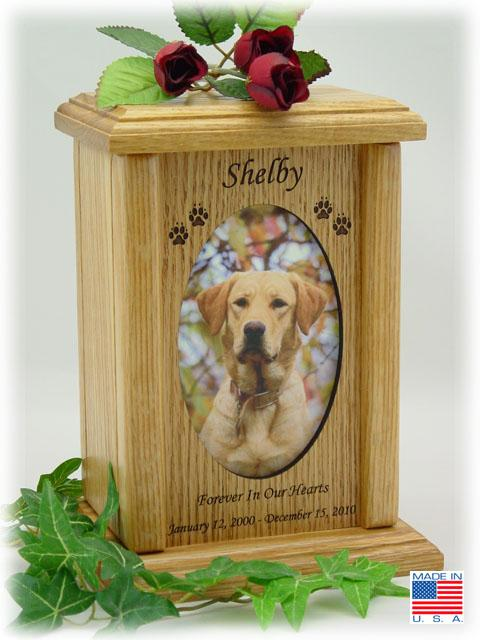 Photo Pet Urns Medium Vertical