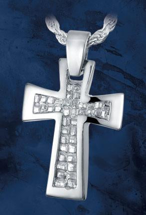Nugget Cross Pendant