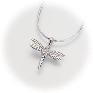 Small Dragonfly Keepsake Pendant