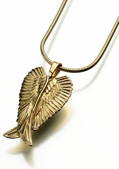 Angel Wings Keepsake Pendant