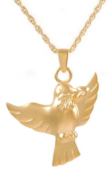 Dove Keepsake Pendant