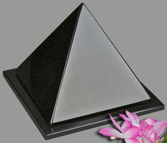 Pyramid Black Granite Infant Urn
