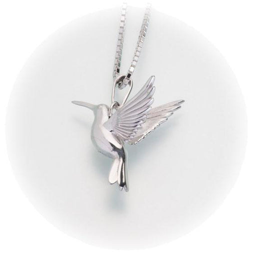 Hummingbird Keepsake Pendant