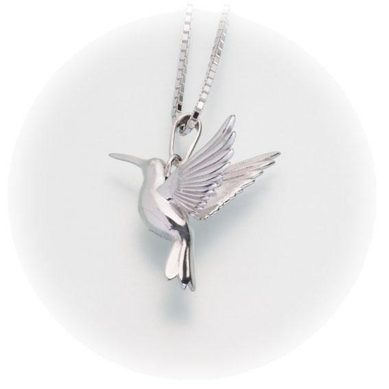 Hummingbird Keepsake Cremation Pendant