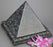 Pyramid Blue Pearl Granite Urn