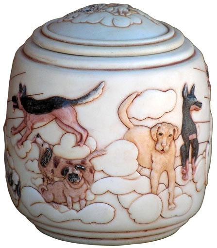 Good Day Sunshine - Cultured Marble Urn