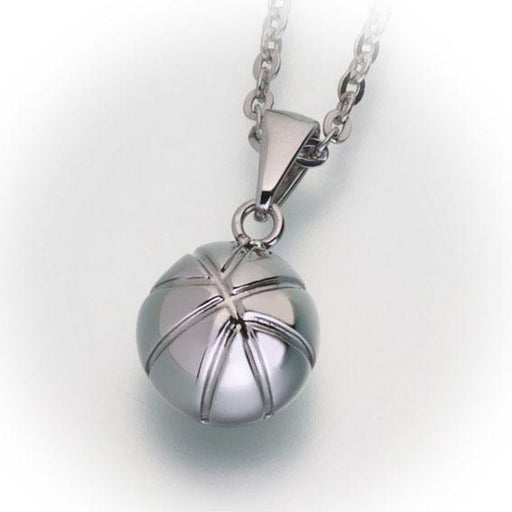Basketball Cremation Pendant