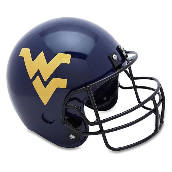 University of West Virginia Football Helmet Urn