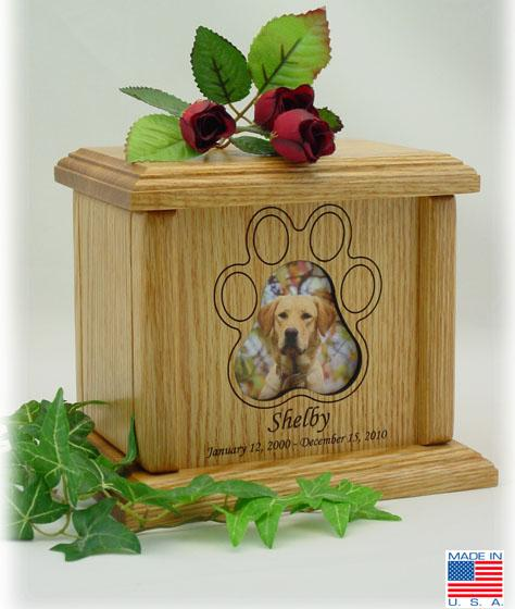 Photo Pet Urns Medium Horizontal