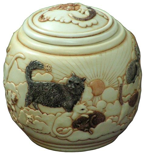 Forever and Ever Cat Urn