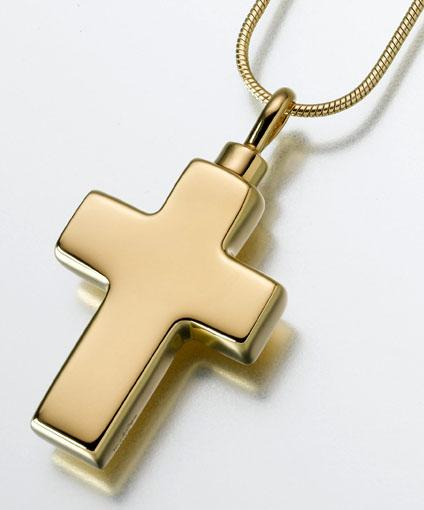 Large Cross Keepsake Pendant